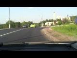 погоня ДПС за Nissan GTR